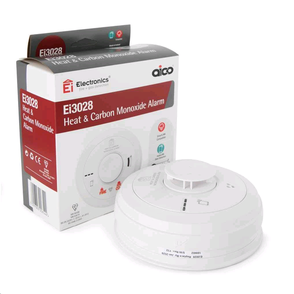 Aico Multi Sensor Fire Alarm Rechargeable + Audiolink