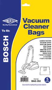 Electrue Part G Bag For Bosch Cylinder Vacuum
