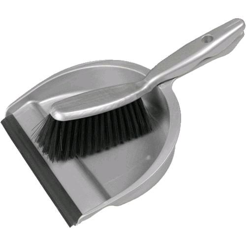 OurHouse SR22017 Dustpan and Brush Soft Grip