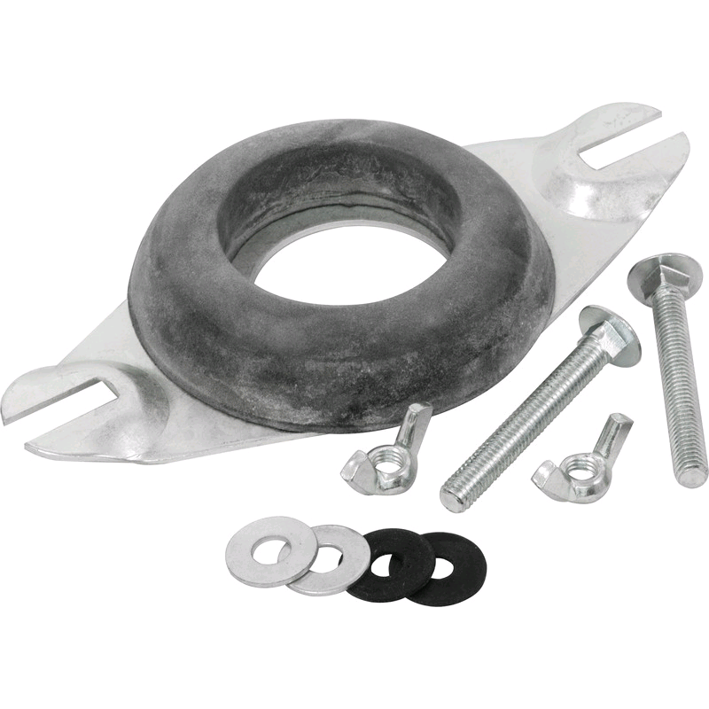 Close Coupling Kit Cranked Plate c/w Flat Washer