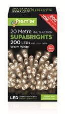 PREMIER LV071255WW S/BRIGHTS MULTI ACTION 200 LED WARM WHITE