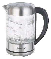 Prestige Glass & Stainless Steel Kettle 1.7Ltr 3Kw