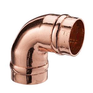 Copper 90deg Elbow 28mm Solder Ring