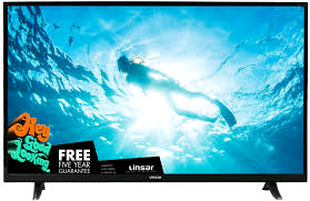 Linsar 49in SMART Freeview HD TV 3840x2160 RES, 2xHDMI, 1xScart,Freeview Play+Netflix
