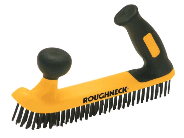 Two Handed Wire Brush Soft-Grip