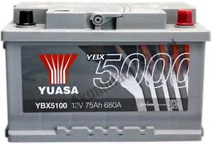 Yuasa 12V 75Ah 680A SMF Battery