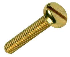 M4 x 12mm Brass Panhead Screws
