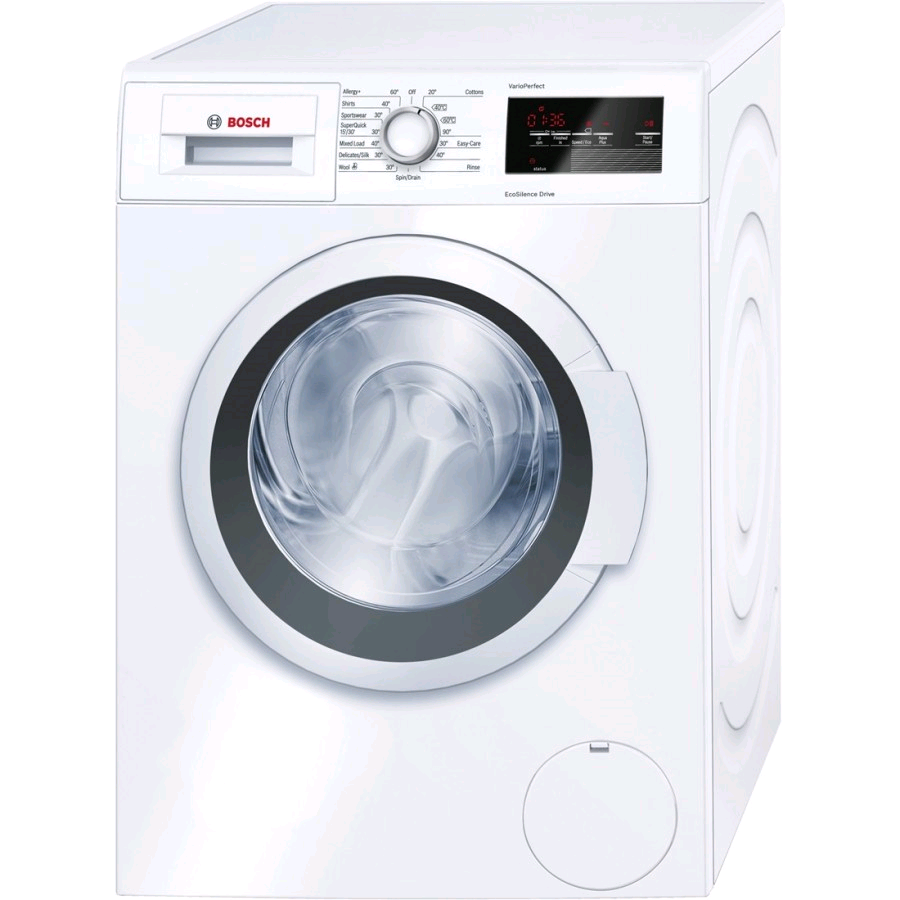 Bosch Washing Machine 9kg 1400 Spin Speed Eco Silence