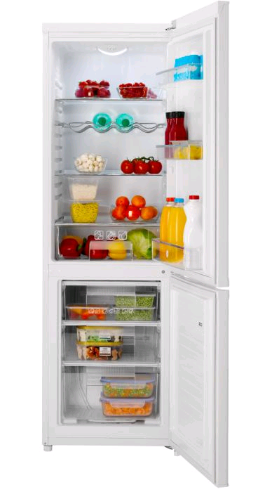 Hoover HMCSS5172WI H-170, W-55, D-57.6 188Litre/64Litre 3 freezer drawers Scoop Offer