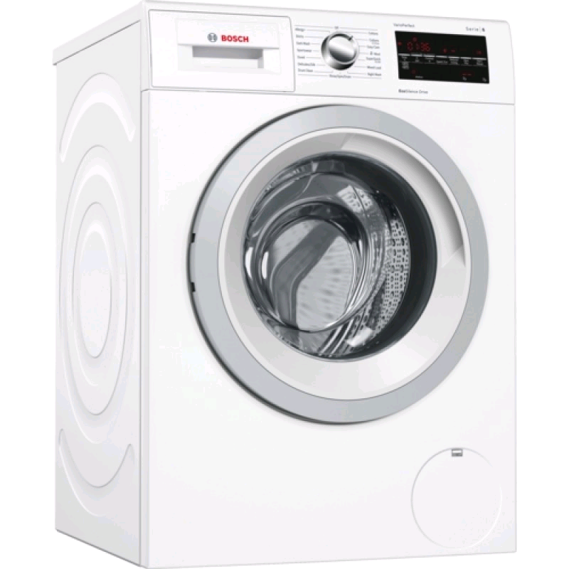 Bosch Washing Machine 8kg 1400 Spin Speed Eco Silence Active Water Series 4