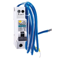 "Niglon MINI RCBO 20A 30mA ""B"" Rated Single Pole"