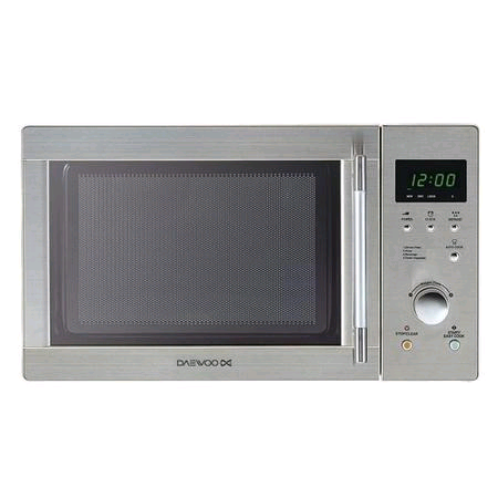 Daewoo Touch Control Microwave 800W 20L Stainless Steel Interior