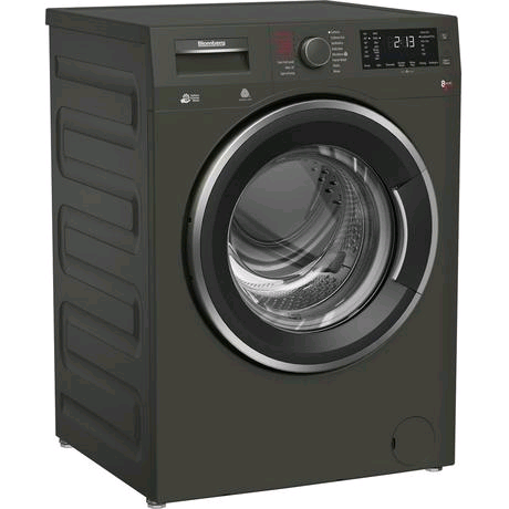 Blomberg Washer Dryer 8kg 1400 Spin Wash 5kg Dry Load in Graphite