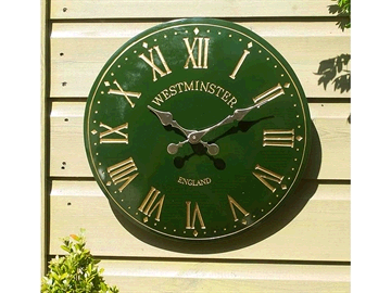 SMART Solar 6321173 Westminster Outdoor Tower Wall Clock