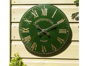 Smart Solar Westminster Outdoor Tower Wall Clock