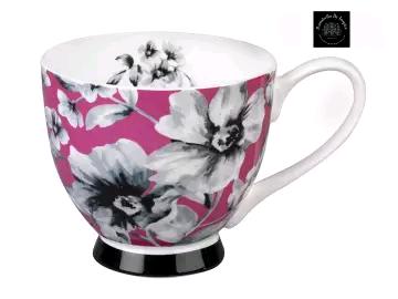Portobello 5100060 China Footed Mug Maya Pink CM04811