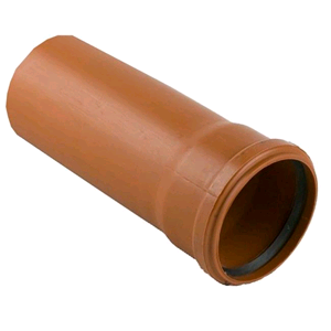 Underground Drainage Pipe 3mtr M/F Terracotta D143 SOIL