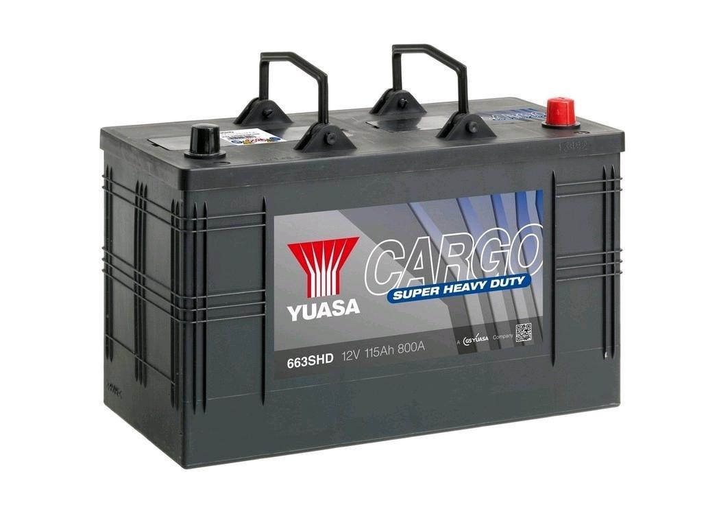 Yuasa SHD 12V Battery 115Ah 800A Cargo Super Heavy Duty