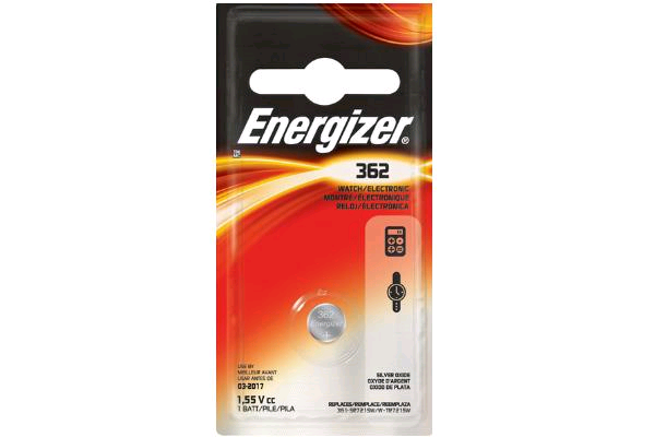 Energizer 362 Battery 1.5V Button Cell