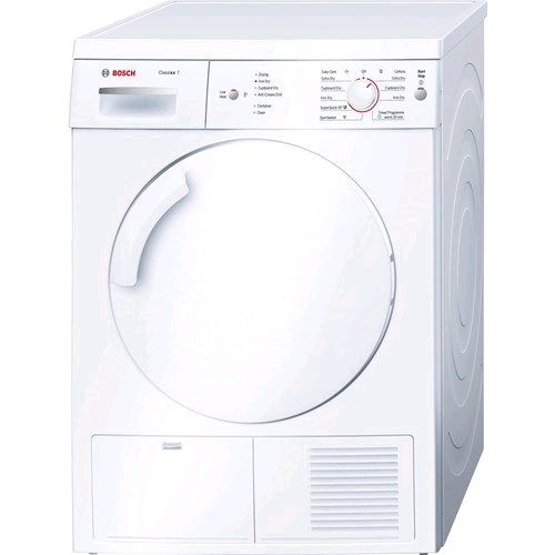 Bosch Classix Condensor Dryer 7Kg B Rated Energy