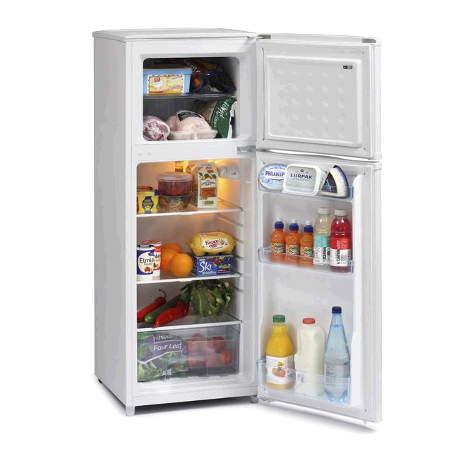 Ice King Top Mount Fridge Freezer H130 W48 D53