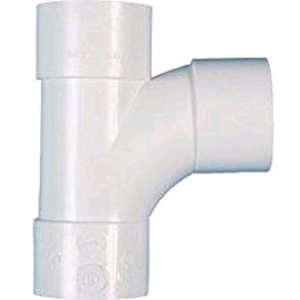 FloPlast Wastepipe Tee 50mm Solvent Weld