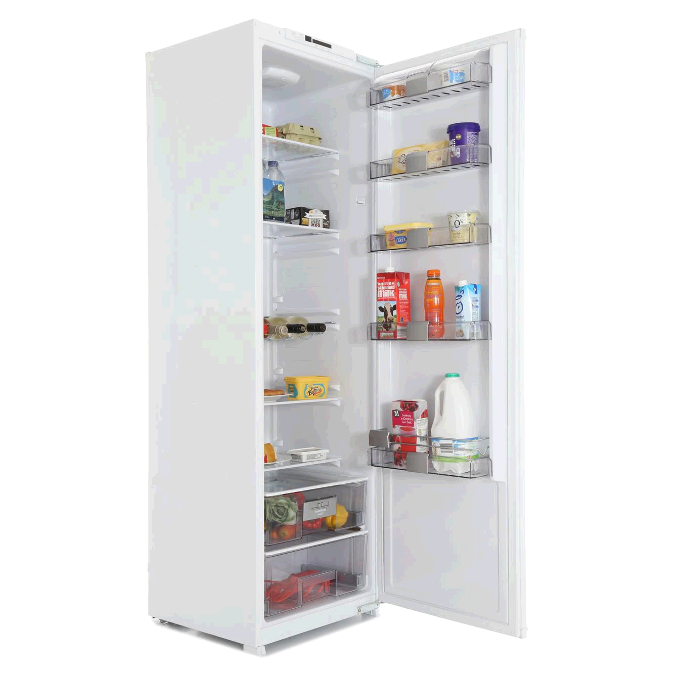 Blomberg Built in Upright Larder Fridge Integrated 315ltr H1707 W545 D600