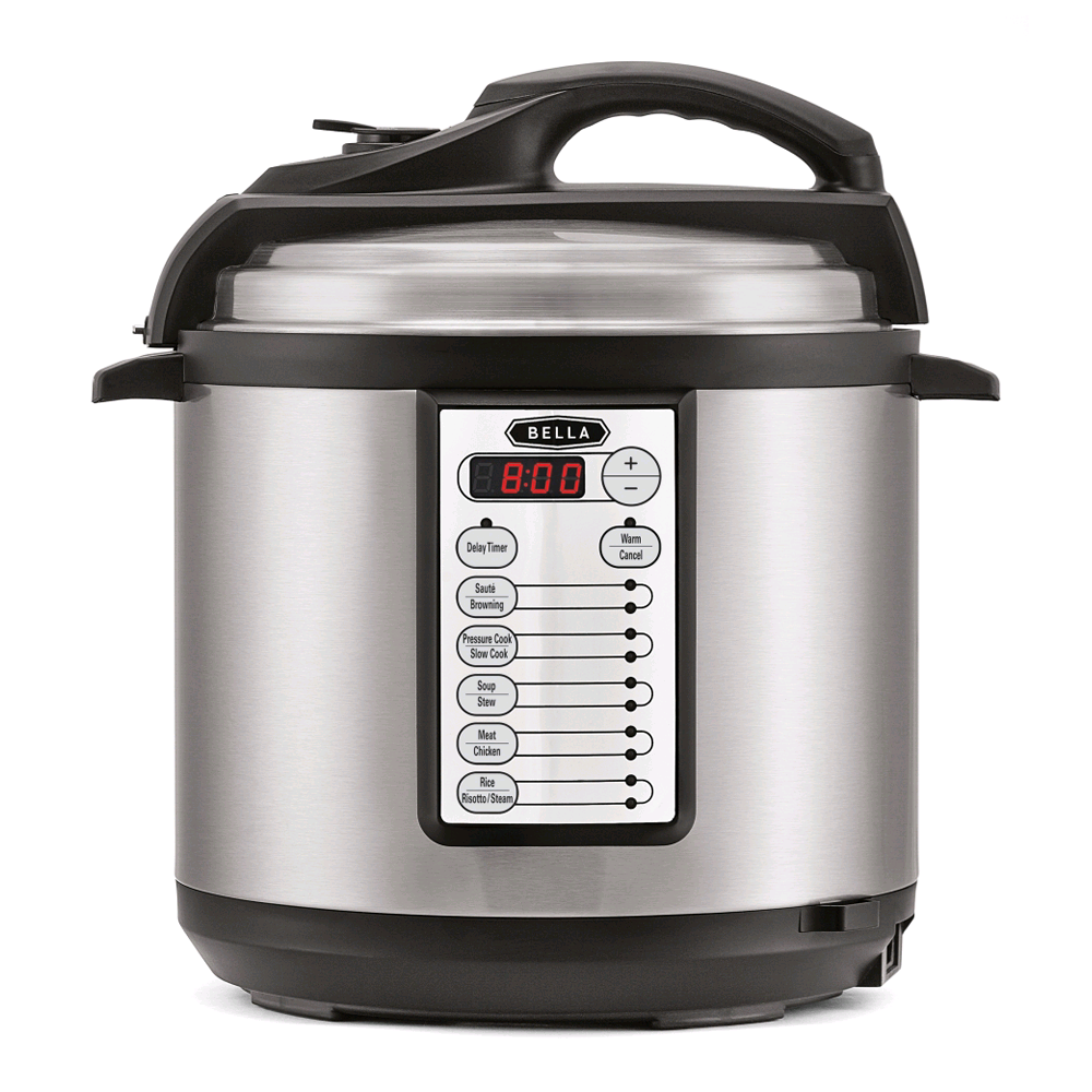 Bella Multi Function Electric  6L Pressure Cooker