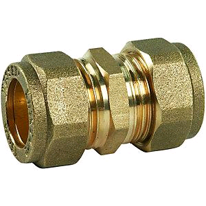 Copper Coupler 22mm Compression