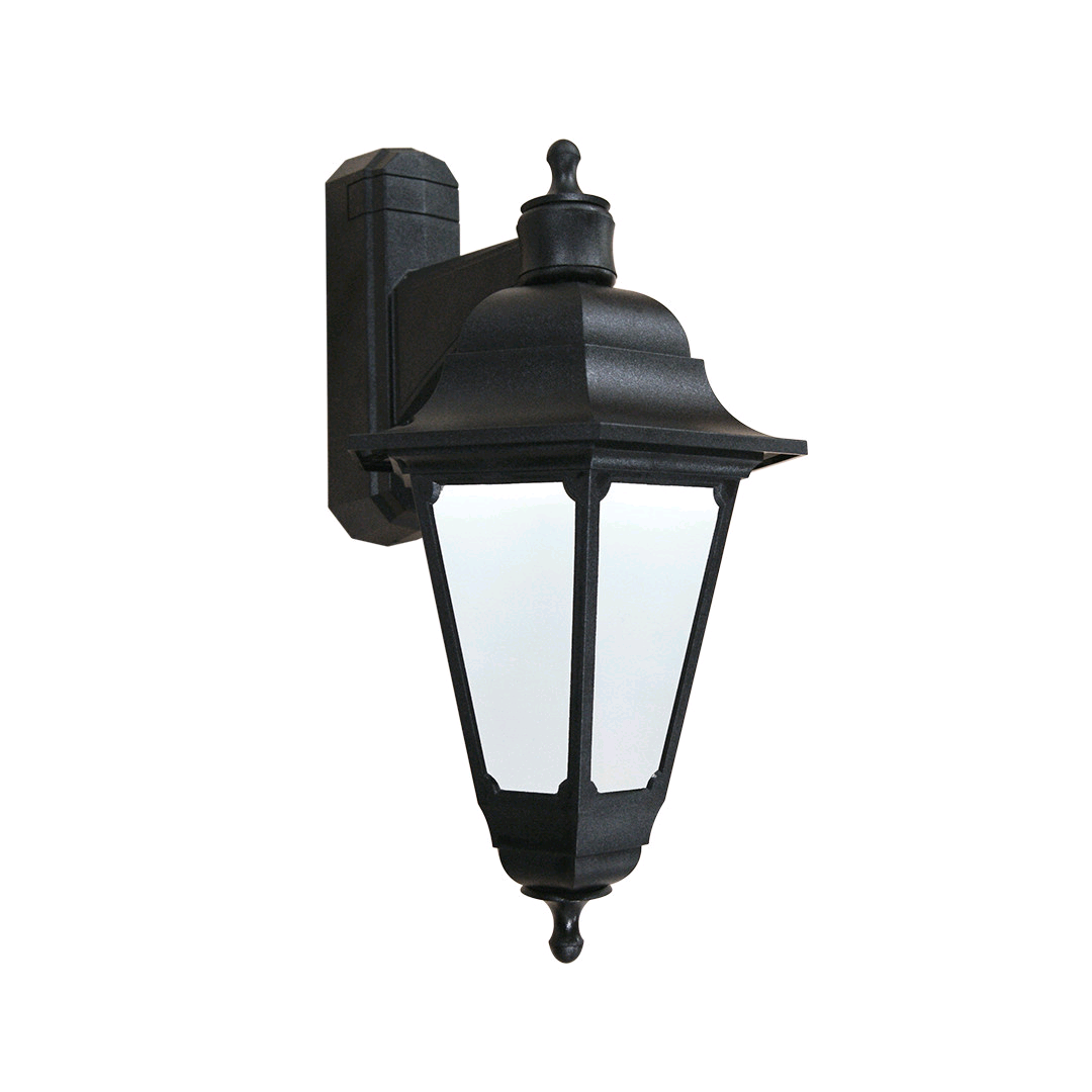 ASD Black Downward Lantern 60w BC