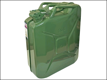 Faithful Green Jerry Can - Metal 20 litre
