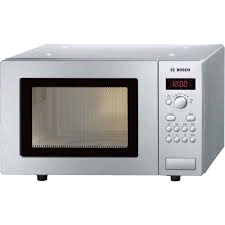 Bosch 800w Microwave 17ltr S/S 5 Power Levels Digital