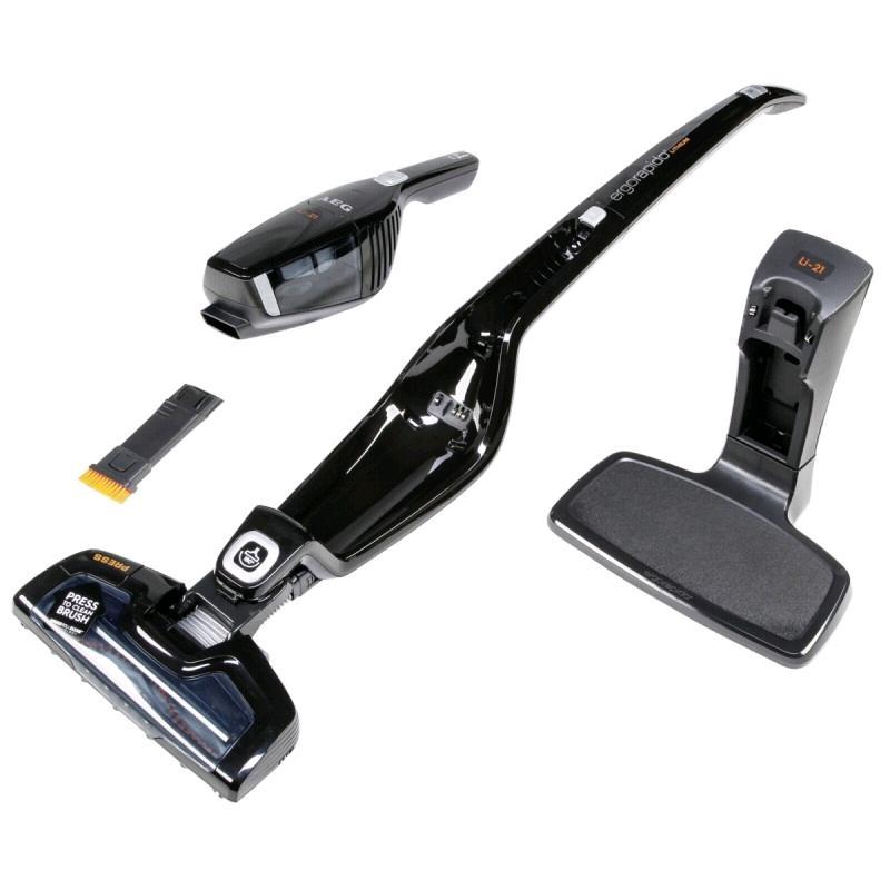 AEG ERGO Rapido 2 in 1 Cordless Vacuum 10.8v Black