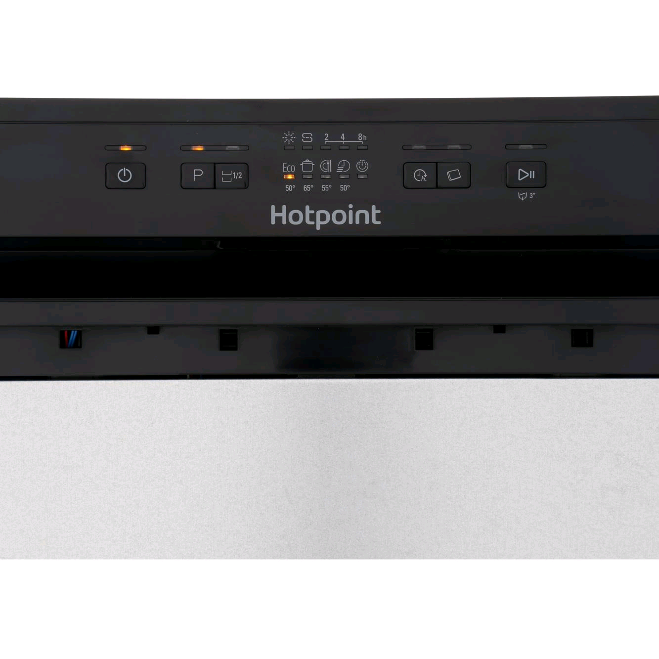 Hotpoint HBC2B19 Semi Integrated Built In Dishwasher 13 Place Setting