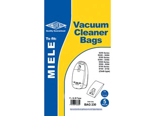 Paper Dust Bag for Meile Cylinder