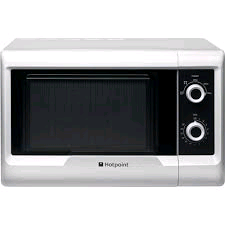 Hotpoint Microwave 20Litre Manual Control White 800w