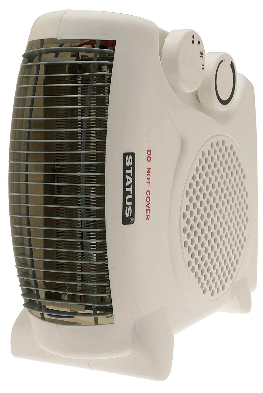 Status Fan Heater Dual Position 2kW 2 Heat Settings