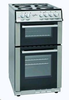 Statesman Fusion 50cm Twin Cavity Soild Plate CookerSilver