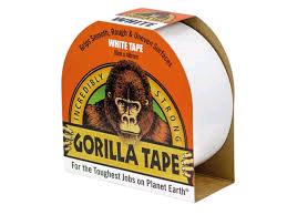 Gorilla Tape White 48mm x 10Mtr