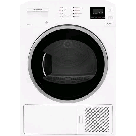 Blomberg Heat Pump Condenser Tumble Dryer 8KG