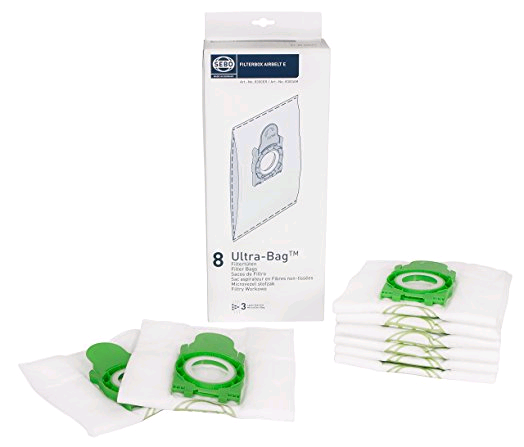 "Sebo Ultra Bags For E"" Machines (Box of 8)"""