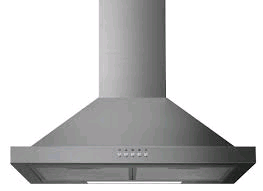 Statesman 60cm Chimney Cooker Hood Stainless Steel