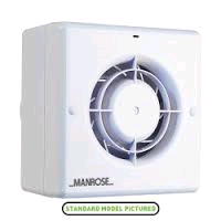 Manrose 100mm/4in Centrifugal Fan c/w Timer