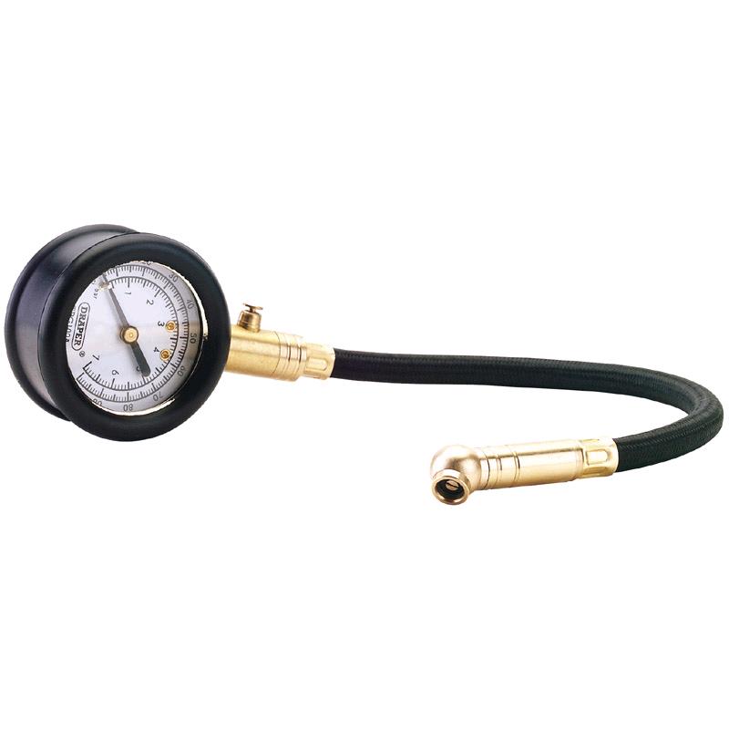 Draper Tyre Pressure Gauge 0-100psi and 0-7bar