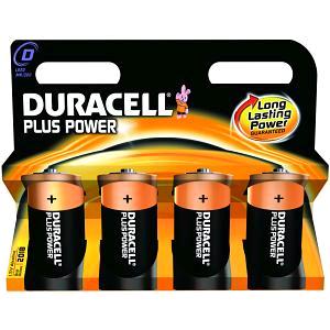 """Duracell """"D"""" Cell Battery 4pk"""