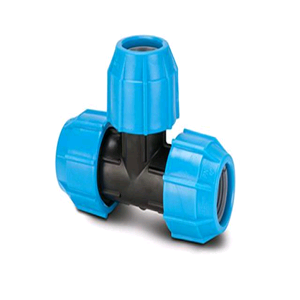 Polypipe Equal Tee 20mm (for MDPE)