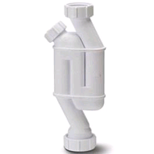 Polypipe Through Trap  2 x 32mm Outlets 1 Cleaning Eye