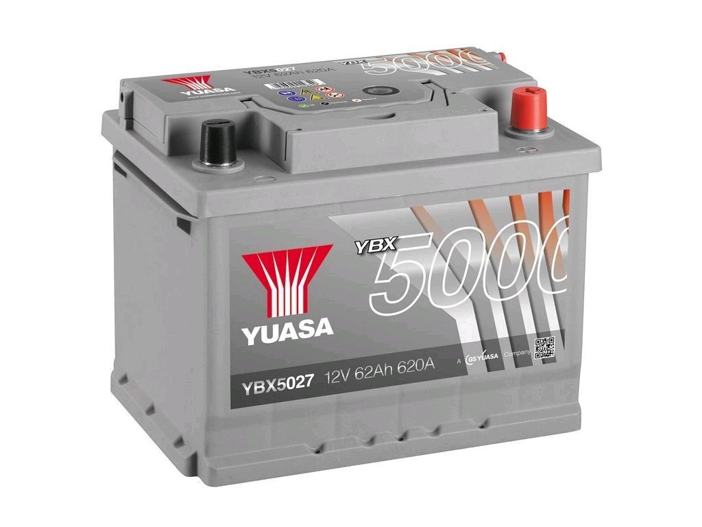 Yuasa 12V 62Ah 600A HP Battery
