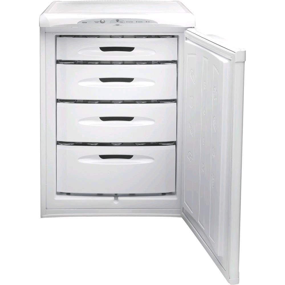 Hotpoint Undercounter Freezer 4.2cu ft White H850 W598 D620mm