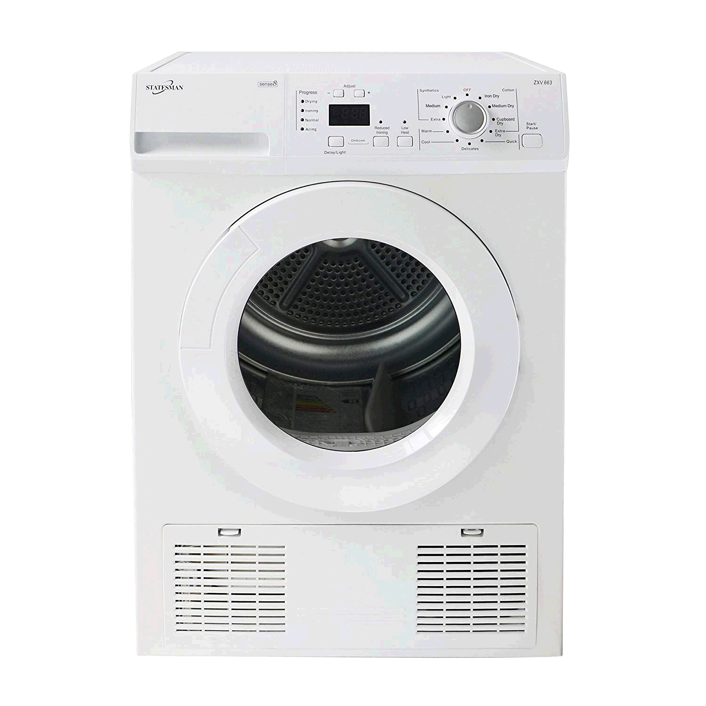 Statesman Condenser Tumble Dryer 8Kg  2yr Warranty